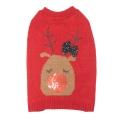 Doglife Putting On The Glitz Reindeer Sweater S