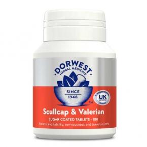Dorwest Scullcap & Valerian 100 tablet