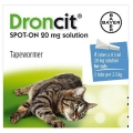 Droncit Tapeworm Drop Cat 4 pipette