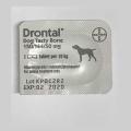 Drontal Tasty Bone Shaped Dog Wormer Dispensed 1 Tablet