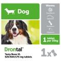 Drontal Dog Tasty Bone XL 2 Tablets
