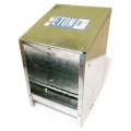Galvanised Eton Hopper Grit/Feed Wall Mount 2.5kg