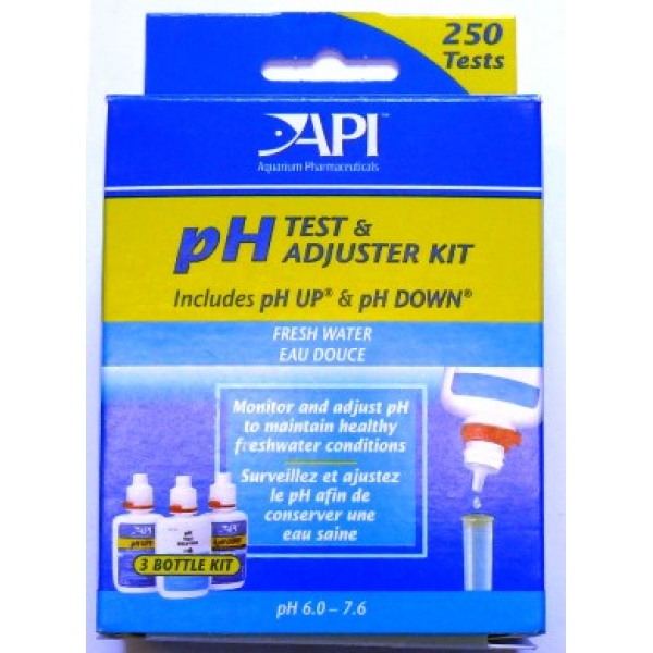 API Freshwater Deluxe pH Test Kit A29A