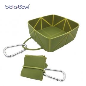 Easypets FoldaBowl Olive