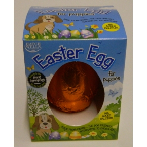 Hatchwells Choc Easter Egg For Puppies 40g