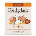 Forthglade Complete Senior Grain Free Turkey Butternut Squash Veg 395g