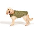 "Danish Design Green Quilted Dog Coat 70cm 28"""