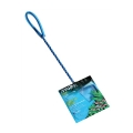 Hagen Nylon Fish Net Vinyl Coated Handle Blue 15cm
