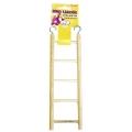5 Step Wooden Bird Ladder Happy Pet