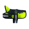 "Animate - Outhwaite Reflective Black / Hi-Viz Padded Harness Coat 20"" (51cm)"