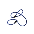 "Hem And Boo Mountain Rope Slip Lead 1/2"" X 60"" (1.2 X 150cm) Dk Blue/ Reflective"