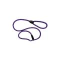 "Hem And Boo Mountain Rope Slip Lead 1/2"" X 60"" (1.2 X 150cm) Purple Reflective"