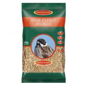 Johnston & Jeff High Energy No Mess Wild Bird Mix 2kg
