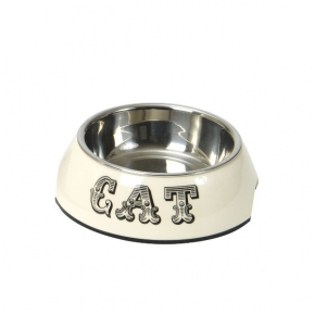 Cream Cat Bowl Small House Of Paws