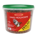 Johnston And Jeff Dried Mealworm 1.75kg
