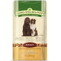 James Wellbeloved Pouch Adult Dog Lamb and Rice 150g