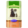 James Wellbeloved Senior Cat Pouch Turkey 85g