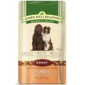 James Wellbeloved Pouch Adult Dog Turkey and Rice 150g