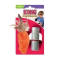 Dr Noys Feather Top Carrot Cat Toy KONG Company