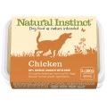 Natural Instinct Natural Chicken Dog 2 X 500g Frozen
