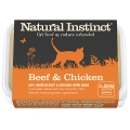 Natural Instinct Natural Chicken And Beef Cat Food 2 X 500g Frozen