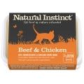Natural Instinct Natural Chicken And Beef Cat Food 2 X 500g Frozen