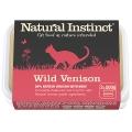 Natural Instinct Natural Venison Cat Food 2 X 500g Frozen