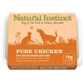 Natural Instinct Pure Raw Chicken Dog & Cat 1kg Frozen