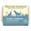 Natural Instinct Pure Raw Turkey Dog & Cat (2x 500g) Twin Pack Frozen