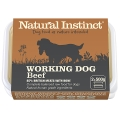 Natural Instinct Natural Working Dog Beef And Chicken Twin Pack 2 X 500g Frozen
