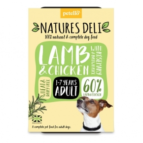 Natures Deli Lamb & Chicken 400g Tray