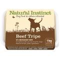 Natural Instinct Natural Beef Tripe Dog 1kg Frozen