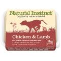 Natural Instinct Natural Chicken & Lamb Dog 1kg Frozen