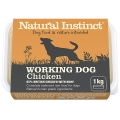 Natural Instinct Natural Working Dog Chicken 1kg Frozen