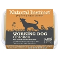 Natural Instinct Natural Working Dog Chicken Twin Pack 2 X 500g Frozen