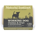 Natural Instinct Natural Working Dog  Tripe & Chicken Twin Pack 2 X 500g Frozen