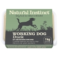 Natural Instinct Natural Working Dog Duck 1kg Frozen