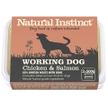 Natural Instinct Natural Working Dog Salmon And Chicken Twin Pack 2 X 500g Frozen