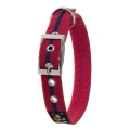 Oscar & Hooch Collar Extra Small Bold Red