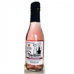 Pawsecco Rose Wine For Cats And Dogs 250ml