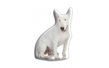 Adorable English Bull Terrier Cushion