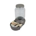 Petmate Mason Dish Waterer Silver 1 Gallon / 4.75 Litre