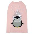Sotnos Pink Penguin Sweater L