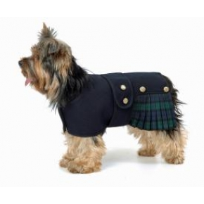 "Cosipet Black Watch Kilt 20cm - 8"" Cosi-Kilt Dog Coat"