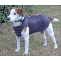 "Cosipet 30"" - 75cm Navy Blue Quilted Step In Dog Coat"