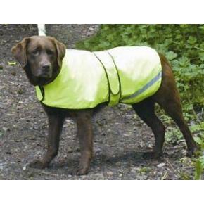 """Cosipet Safety Dog Coat Yellow 22"""""""