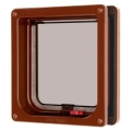 Pet Mate Cat Mate Cat Flap Door Brown 304B