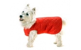 "Cosipet 20"" - 50cm Red Quilted Step In Dog Coat"