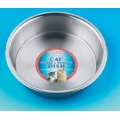 Classic  Stainless Steel Shallow Cat Dish 15cm