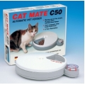 Pet Mate Cat Mate C50 Automatic Five Meal Feeder with 2 Ice Pack